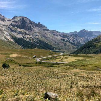 Road between Col de Lautaret and Col du Galibier