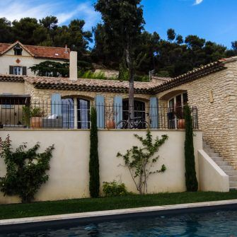 Villa near Lourmarin, France