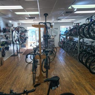 Interior Dr Js bike shop Solvang