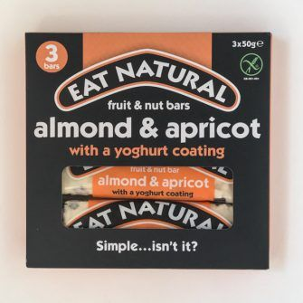 Eat Natural bars in box