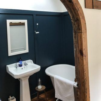 Bathroom at Pitts Keep, Bonchurch