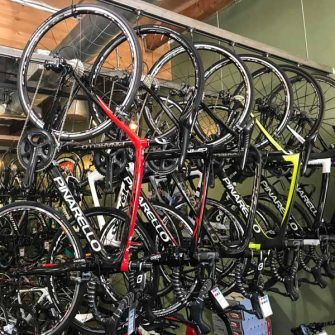 Bikes at Serious Cycling Agoura Hills