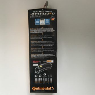 continental grand prix 4000s ii packaging