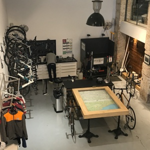 Cafeé du Cycliste workshop