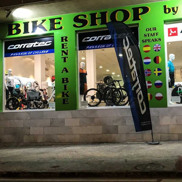 Bike shop Calpe