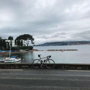 Bike by the sea at Cap D'Antibes