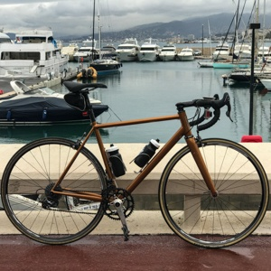 Bicycle at Cannes Marina