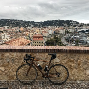 Bike at Suquet, Cannes