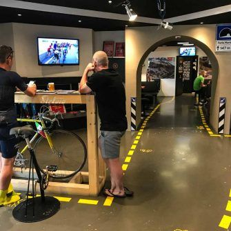 Stelvio Experience Cycling Cafe in Bormio