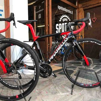 Spot On Pinarello road bike hire Bormio for the Stelvio