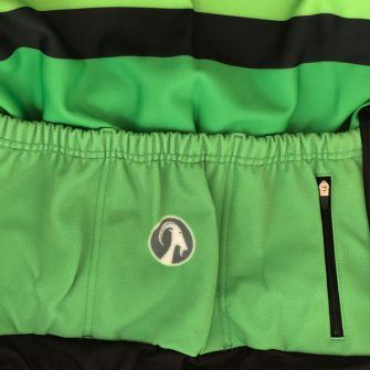 Orkaan long sleeve jersey in green by stolen goat is a great gift for a cycling enthusiast