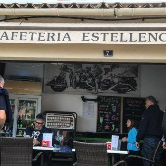 Cafe in Estellencs Mallorca