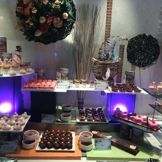 Christmas food at Constance Ephilia hotel Seychelles