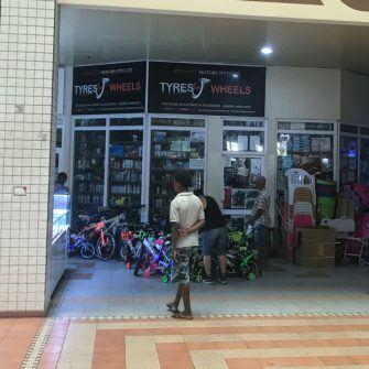 Bike shop Mahe island Seychelles