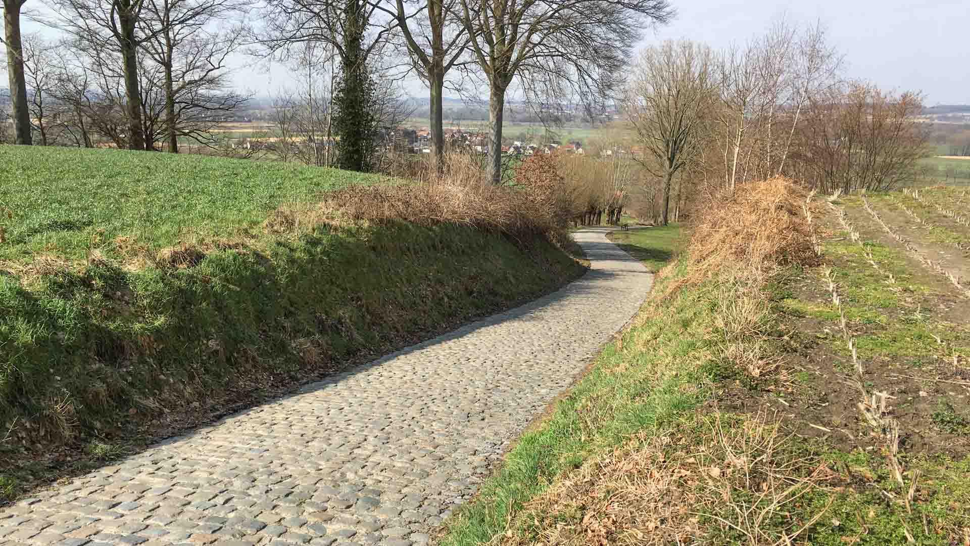 Cycling Koppenberg, Flanders Belgium