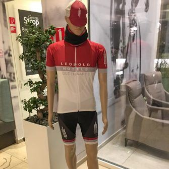 Cycling kit of the Hotel Leopold, Flanders