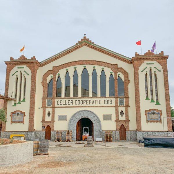 Wine cathedral in Falset, Costa Daurada