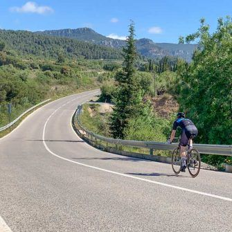 Cycling from Alforja to Vilaplana
