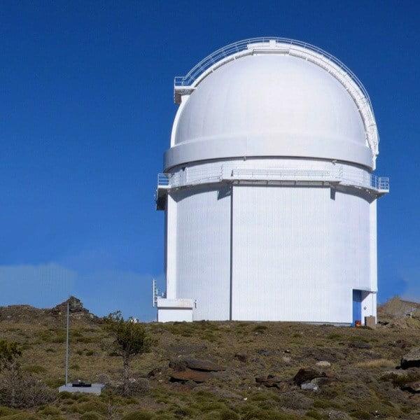 Observatory at the top of the Calar Alto climb