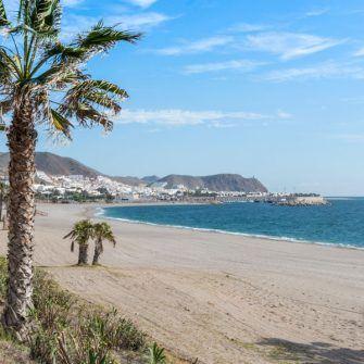 Carboneras beach, Almeria