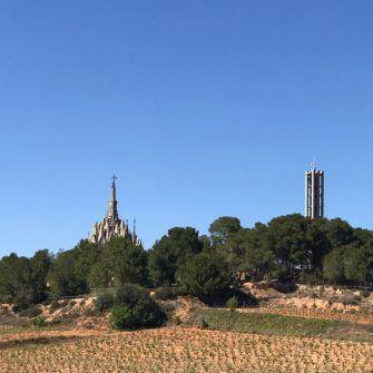 Gaudi inspired landscape, costa daurada