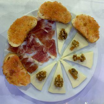 Local food from Salou