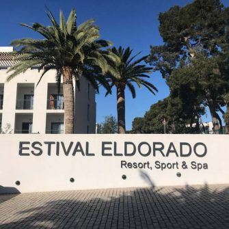 Sign for the Estival Eldorado