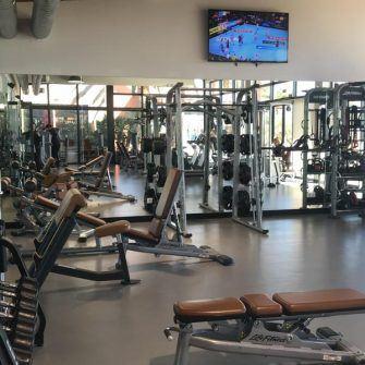 Gym at Hotel Estival Eldorado, Costa Daurada