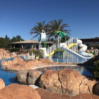 Kids pool at Estival Eldorado resort, Cambrils, Costa Daurada