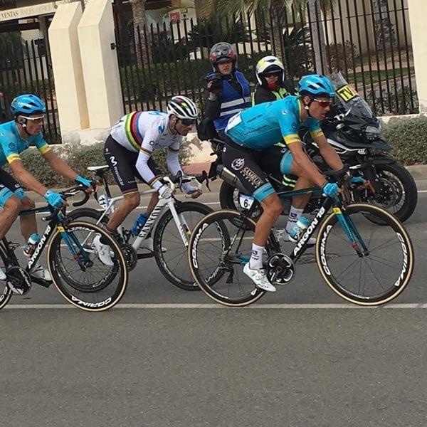 Vuelta Murcia with Valverde