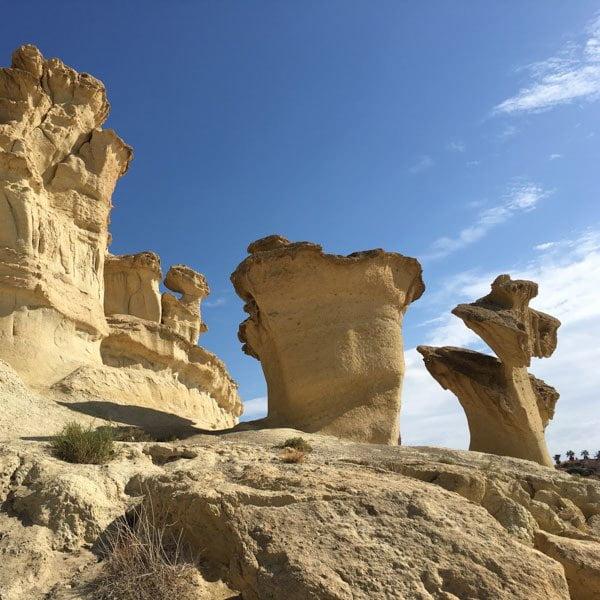 Bolnuevo rock formations, Murcia, Spain