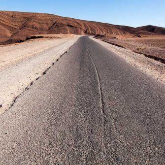 Road through Morrocco