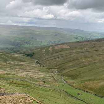 View from Buttertubs Pass, Yorkshire Dales