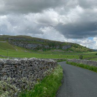 Road towards Arncliffe, Yorkshire Dales