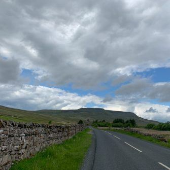 Road to Nateby, Yorkshire Dales on the Etape du Dales route