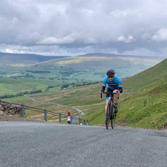 Climbing Fleet Moss by bicycle, Yorkshire Dales