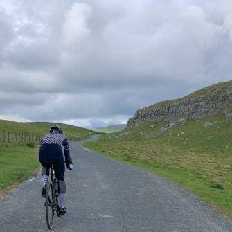 Cycling around Malham Tarn