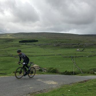 Climbing by bike in the Yorkshire Dales