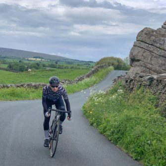 Cycling back towards Settle from Eldroth