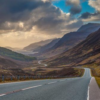 Cycling the North Coast 500 route, Scotland