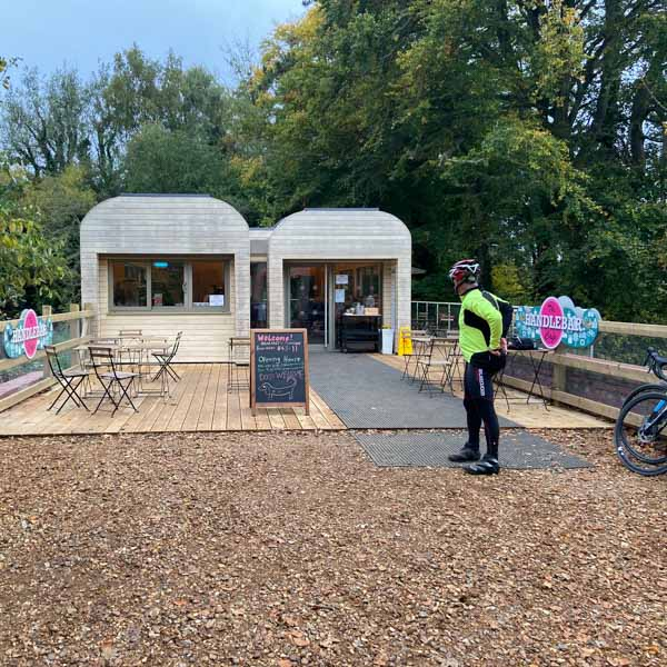 Handlebar cafe South Downs national park great for cycling