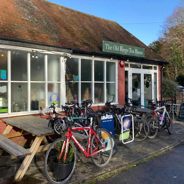 Old Forge tea rooms perfect for cyclists