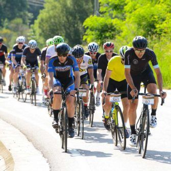 cyclists at the Girona Cycling Festival