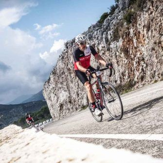 On the Contador sportive course