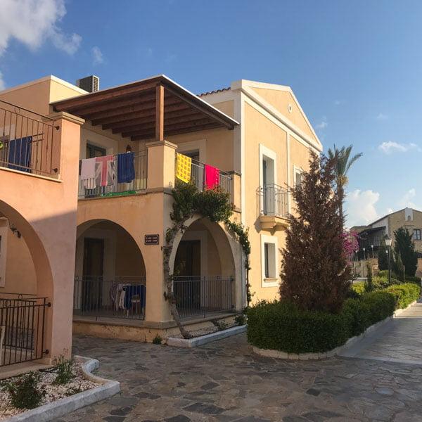 Accommodation at the Aliathon, Cyprus