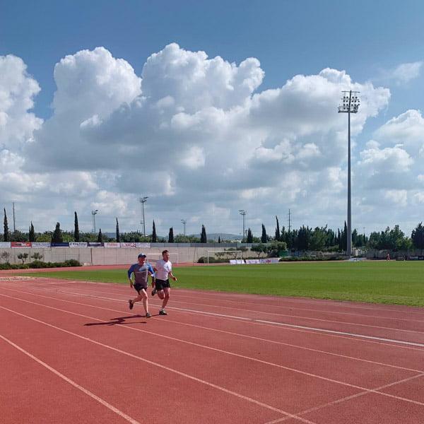 Running stadium in Cyprus