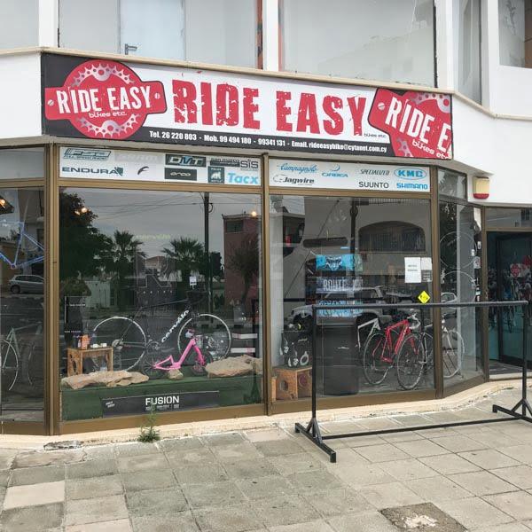 Ride Easy bike shop in Paphos