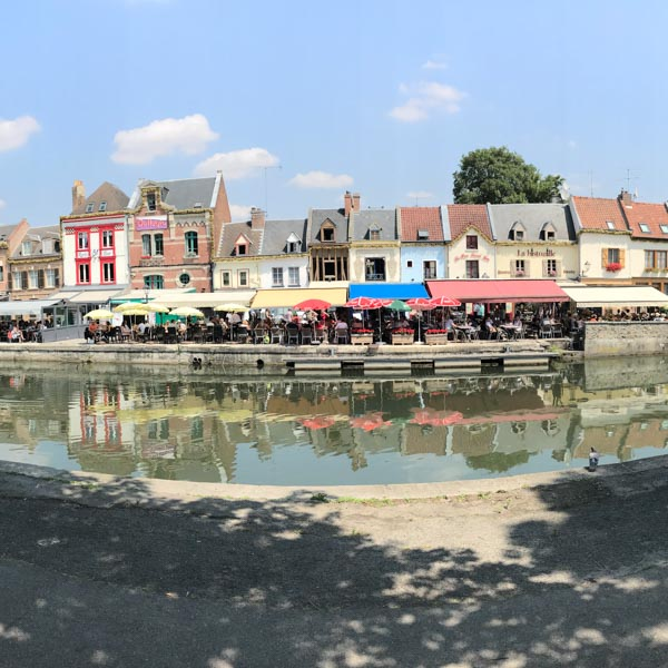 Small town on the Tour de France route perfect for spectating