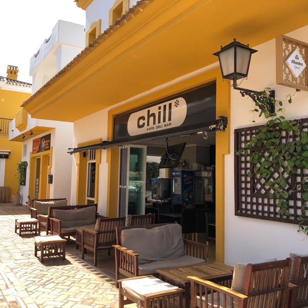 great cycling cafe in Murcia, Spain
