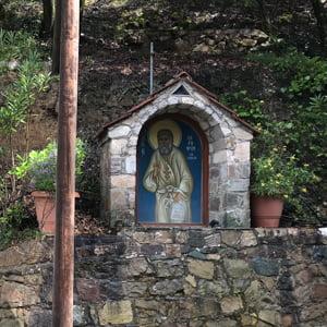 Roadside temple in Cyprus